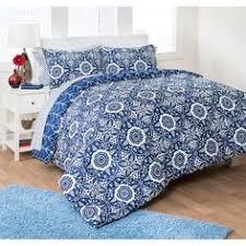 Bed Set Walmart Latitude Kaleidoscope Reversible Complete Bedding Set Purple