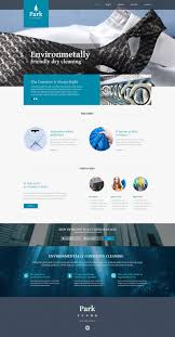 website template 51342 park dry cleaning custom website template