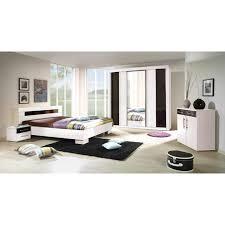 chambre laque noir chambre adulte complète nudi i coloris blanc finition laqué noir