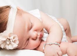 Children S Bracelets Princess Pearl Baby Children U0027s Name Bracelet