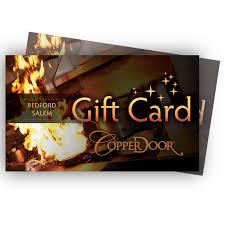 open table gift card review copper door restaurant not too fancy not too casual it s juuust