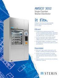 amsco 5052 steris pdf catalogue technical documentation steris