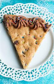 birthday cookie cake cookie cake