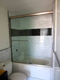 Glass Shower Doors San Diego Bypass Shower Door Install Patriot Glass And Mirror San Diego Ca
