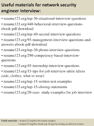 Security Resume Examples by Top 8 Network Security Engineer Resume Samples