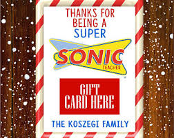 sonic gift cards sonic cards etsy