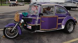 volkswagen beetle purple vw beetle trike spotted for sale in pasadena texas weirdwheels