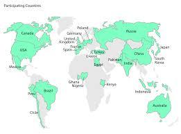 Map Of China And Japan by Views Of China And India Slide While Uk U0027s Ratings Climb