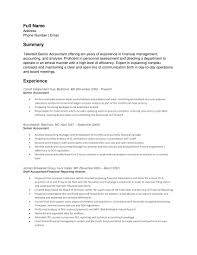 Best Accounting Resume Sample by Senior Accountant Resume Examples Free Resume Example And