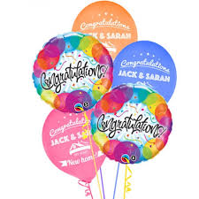 personalised birthday balloons 25 personalised housewarming balloons