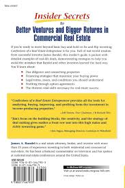 Real Estate Power Of Attorney by Confessions Of A Real Estate Entrepreneur What It Takes To Win In
