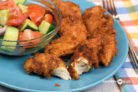 ranch fried chicken tenders southern plate