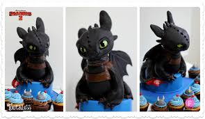 toothless cake topper how to your 2 in sugar fernanda abarca cakes