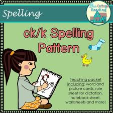 ck spelling rule pack by blue cottage reading teachers pay teachers