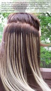 glued in hair extensions about tembond for manemaxx hair extensions find colors here