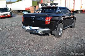mitsubishi bangladesh to fit 2015 mitsubishi l200 stainless steel rear bumper guard