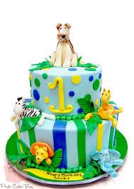 jungle theme cake jungle safari cakes pink cake box custom cakes more