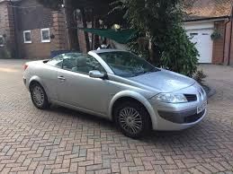 megane renault convertible used renault megane convertible for sale motors co uk