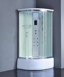 1001now 8004 as pure corner steam shower enclosure with hydro