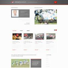 sports psd templates