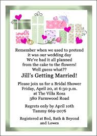 bridal shower wording bridal shower invitation wording ideas gangcraft net