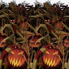 gothic halloween field of screams party scene setter room roll