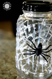 Halloween Spider Craft Ideas by Spider Web Mason Jars Diy Momdot