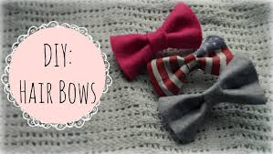 how do you make hair bows diy fabric hair bows