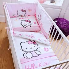 chambre hello bebe housse de couette hello parure de lit bébé 80 x 120 cm