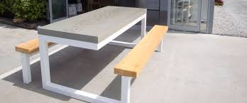 Concrete Patio Tables And Benches Concrete Outdoor Seating Google Search Furniture Pinterest