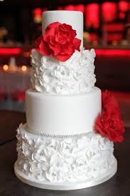 Red And Silver Wedding Red White And Silver My Wedding Ideas Wedding Cake