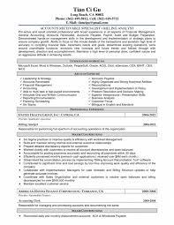 Accounts Payable Specialist Resume Sample Cover Letter Administrative Specialist Resume Administrative