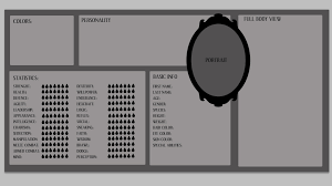 Stat Sheet Template Original Character Sheet Blank Template By Ulvkatt On Deviantart