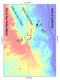 Map Of Baja California Widespread Ignimbrite Constrains Tectonic History Of The Gulf Of