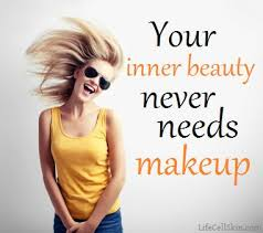 your inner beauty never needs makeup es innerbeauty lifecell