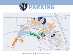 Mls Teams Map Children U0027s Mercy Park Parking Sporting Kansas City