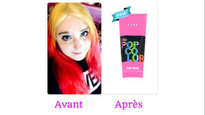 Color Pink by Hair Color Change Changement Capillaire The Color Pop Pink U0026 Red