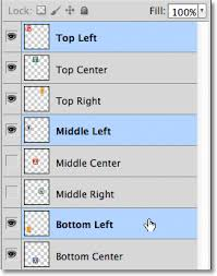 Top Right Da Blogmother Align And Distribute Layers In Photoshop