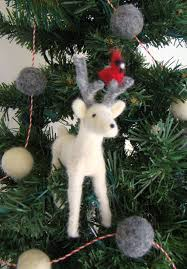 White Christmas Reindeer Decorations by 67 Best White Reindeer Images On Pinterest White Reindeer