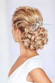 hairstyles for wedding braided wedding updo hairstyle deer pearl flowers