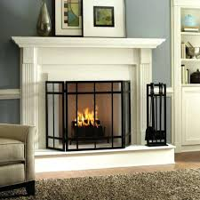 fireplace glass doors open or closed images doors design ideas