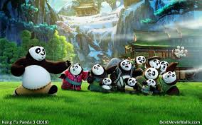beautiful green wallpaper po panda family kfp3