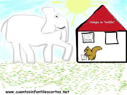 jamie the elephant and the teacher squirrel