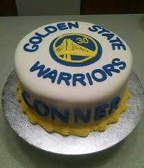 birthday cake fora golden state warriors basketball fan my