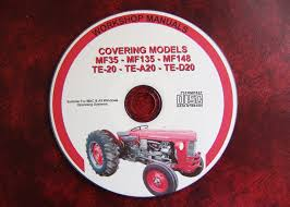 massey ferguson mf35 mf135 mf148 te20 u0027fergie u0027 workshop service