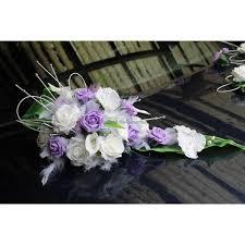 composition florale mariage composition florale pour voiture de mariage avec des orchidée