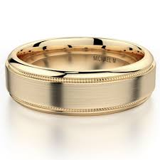 mens gold wedding band 35 men s wedding bands he ll brides