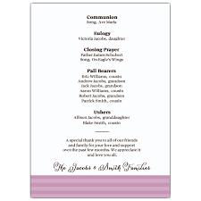 funeral service announcement wording memorial service programs sle sku 638 57fn 066 memorial