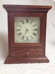 Free Simple Wooden Clock Plans by Mantel Clock With Free Plans By Randy Sharp Lumberjocks Com