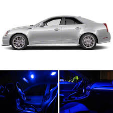2013 cadillac cts interior amazon com ledpartsnow cadillac cts 2008 2013 blue premium led